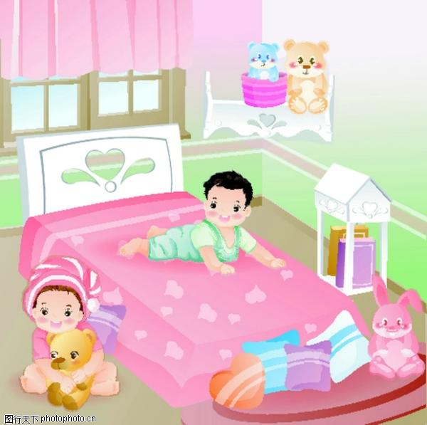 儿童卧室简笔画步骤