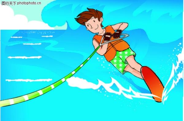 破浪前进 儿童运动-少年儿童-少年儿童,儿童运动