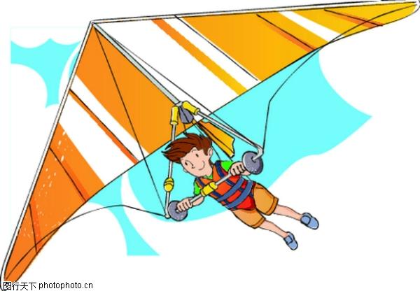 滑翔 儿童运动-少年儿童-少年儿童,儿童运动