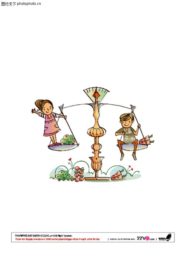 快乐生活图片-少年儿童图