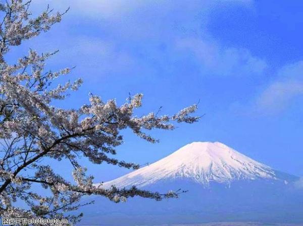雄伟山峰图,自然风景图片